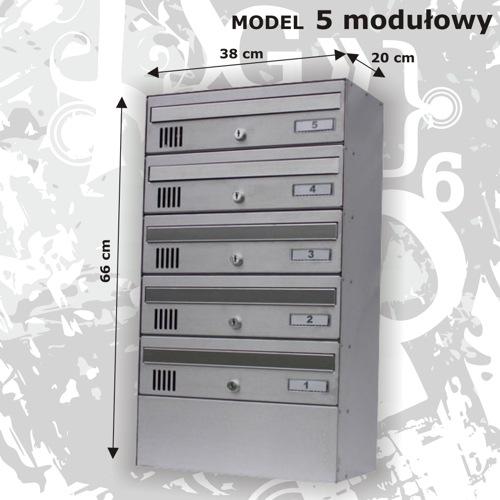 Skrzynka 5 modułowa